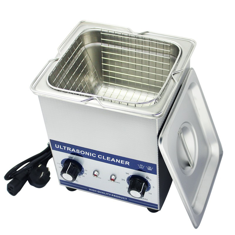 JP-010 PCB Ultrasonic Cleaner 1.6L 60W Eyeglass Bath Cleaner Ultra sonic Jewelry Parts Cleaning Machine Free Basket 220V/110V(China (Mainland))