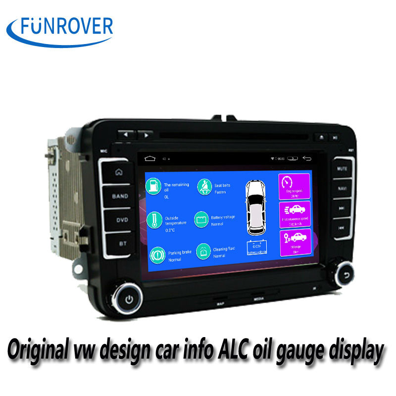 VW/Jetta/Skoda/Seat Series Quad Core HD Touchscreen Android 4.4 Double Din In Dash Car DVD Player ISO plug Stereo Navigation(China (Mainland))