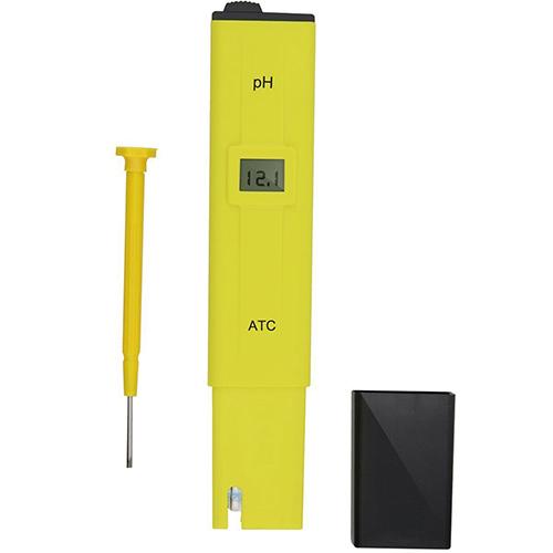 Mini LCD Display Digital PH Meter Tester Pocket Aquarium Pool Water Wine Urine Pen Monitor 6E2M