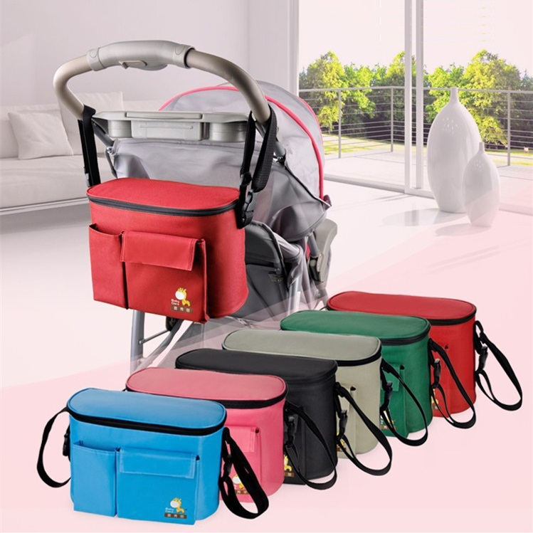 Hot Sale wholesale New design 6 colors baby diaper bags for mom Brand baby travel nappy handbags Bebe organizer stroller bag for(China (Mainland))