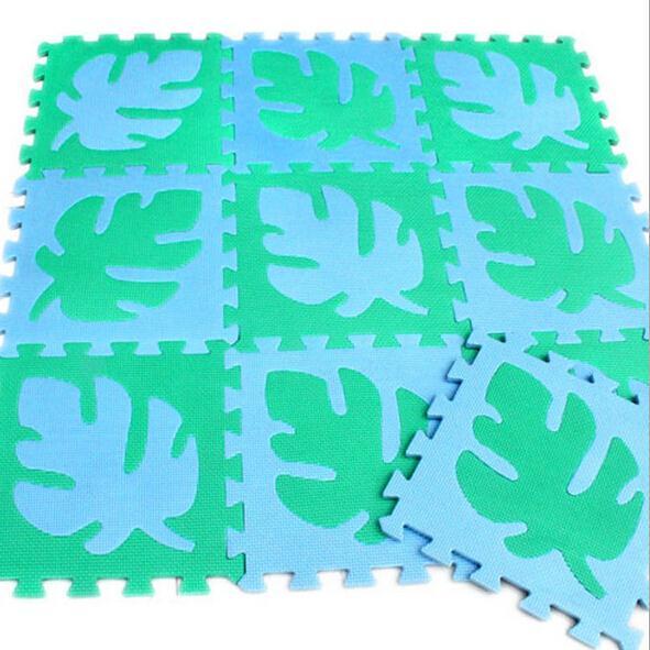 30CMx30CM 9pcs/lot Designer baby crawling game mat eva puzzle carpet free shipping(China (Mainland))
