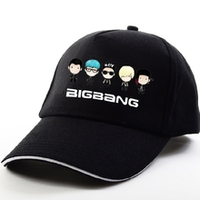 Kpop Bigbang GD TOP TAEYANG DAESUNG SEUNGRI 10 th anniversary style fashion sunshade cap harajuku hip hop hat sport - Poly Han excellent product store
