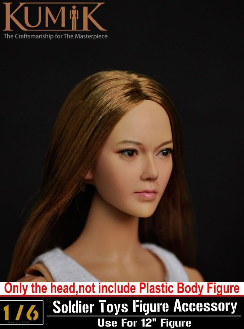 1/6 Head Sculpt KUMIK KM13-56 CG CY Girl Female Figure Headplay Head Carving For 12 Action Figure Collection Doll Toys Gift<br><br>Aliexpress
