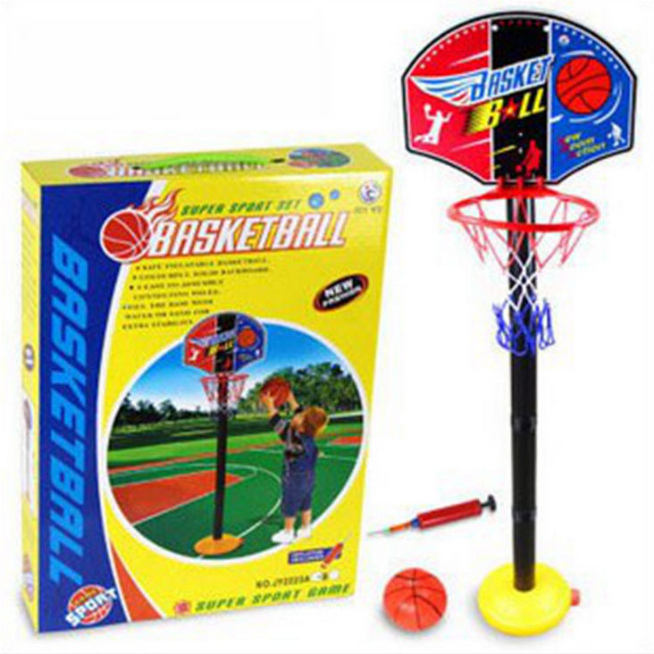 Hot Baby Toys Basketball Toys Set Basketball Stands with Tie Pump Outdoor & Indoor Toys for Babys gifts(China (Mainland))