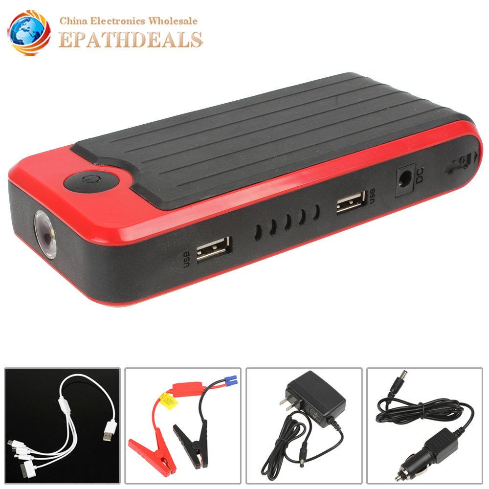 12000mAh Portable Car Jump Starter Emergency High Capacity Mini Jump Start Car Power Bank for Auto Motorboat Cellphone Tablet(China (Mainland))