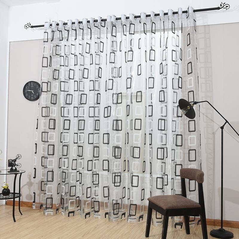 Curtains Panel For Kitchen The Bedroom Living Room Curtain Fabric