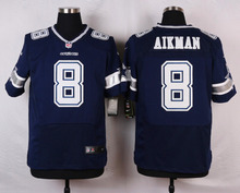 100% Stitiched,High quality,Dallas Cowboys Troy Aikman Tony Romo Roger Staubach Emmitt Smith Morris Claiborne for mens(China (Mainland))