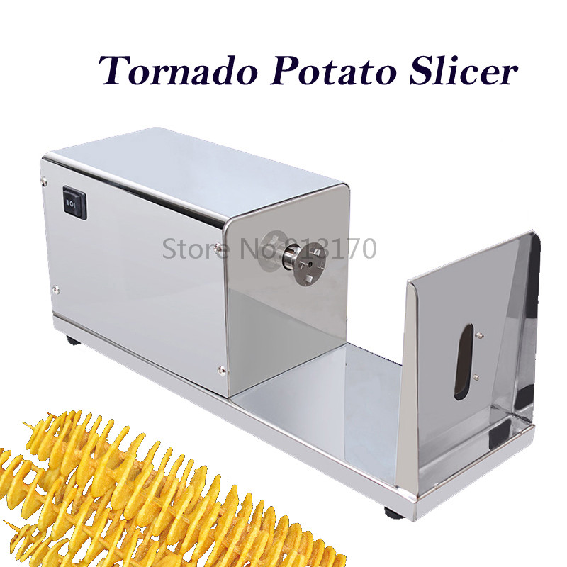 Electric Potato Slicer ~ Online buy wholesale automatic spiral potato cutter from