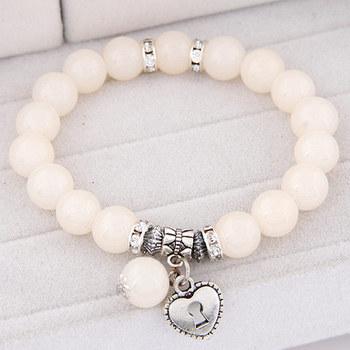 11 цветов Pulseira серебряное в форме сердца кулон браслеты браслеты для женщин Pulsera ...