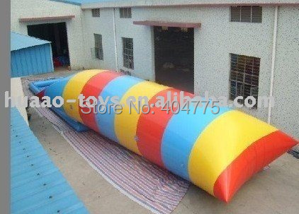12*3m hot sale Inflatable water blob HAWT-002 +1 CE/UL air pump+free shipping(China (Mainland))