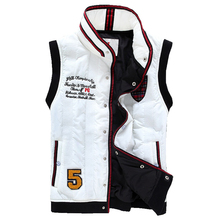New fashion cotton down vest sleeveless jacket hooded waistcoat free shipping 6 colors CMJ05(China (Mainland))
