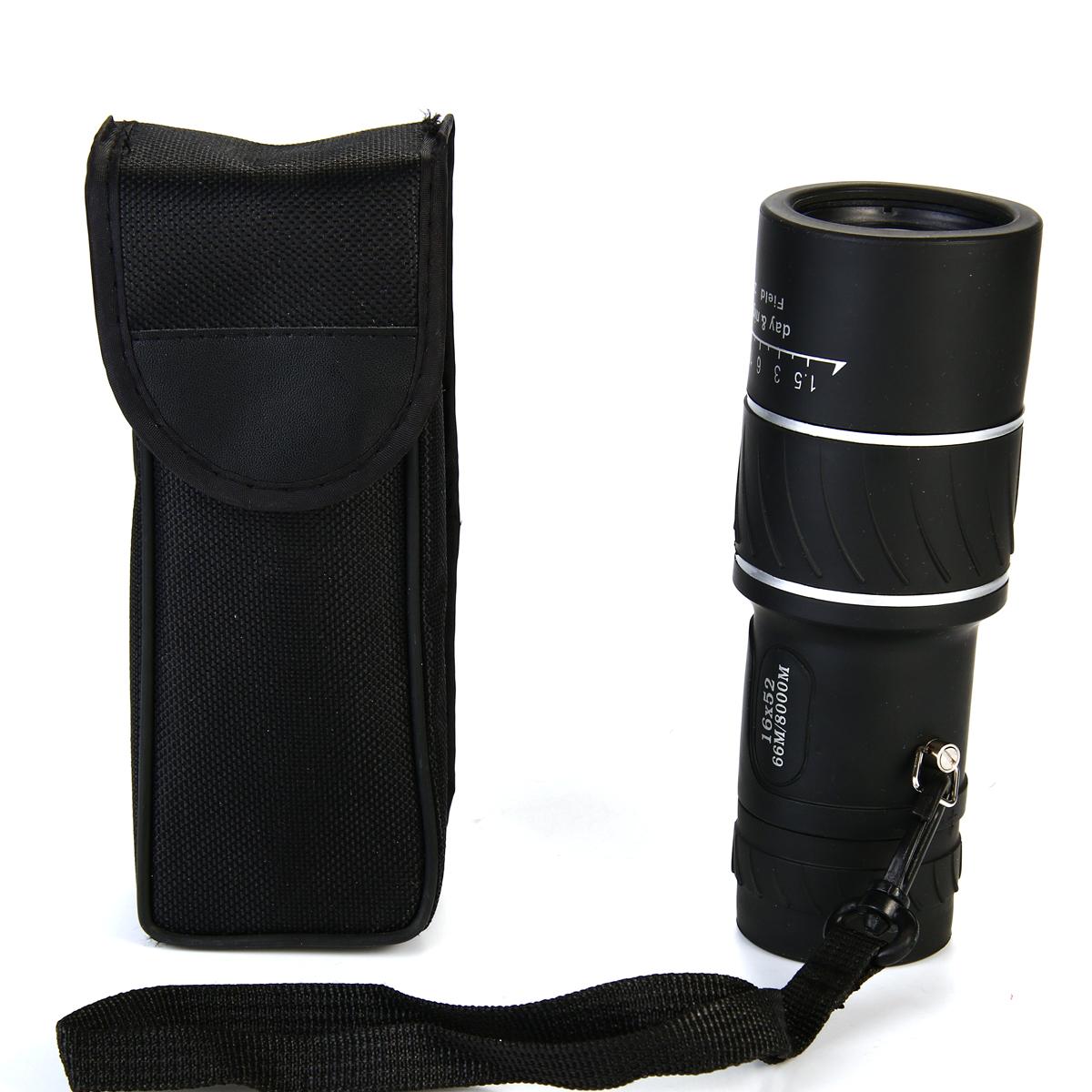 Night Vision 16×52 HD Optical Monocular Telescope