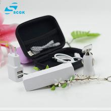 6 in1 пакет переменного тока USB зарядное устройство + USB автомобильное зарядное устройство + кабель 3 в 1 устройство для iphone 4 4S 5 5S 6 ставку бесплатная доставка PC05