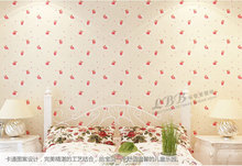 Kids Bedroom Waterproof 3D Cubs Self Adhesive Wallpaper Design Background Wall Wallpaper For Living Room Wallcovering(China (Mainland))