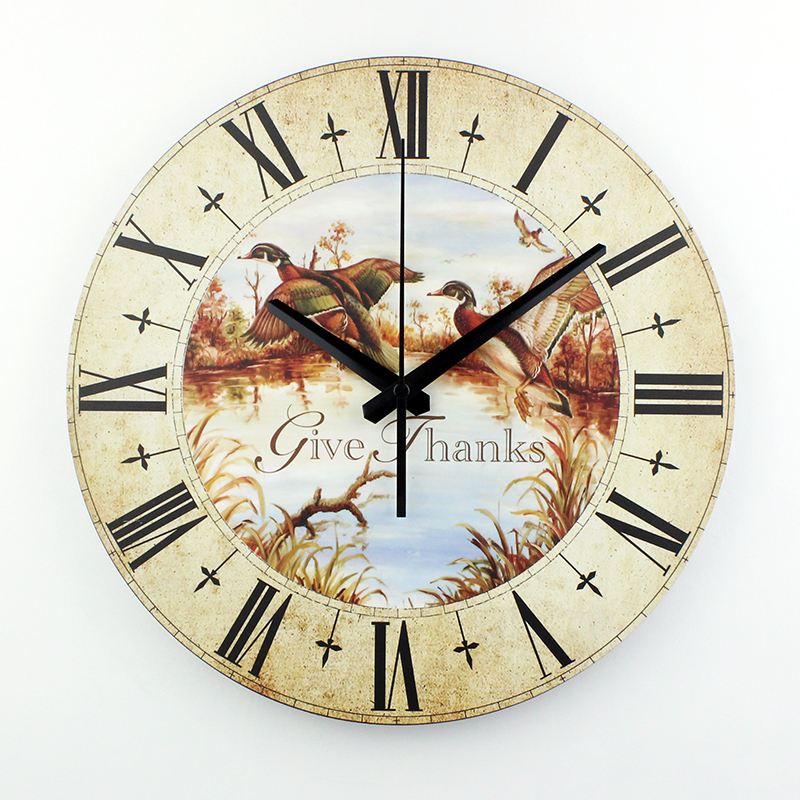 Home Decoration Wall Clock Silent Quartz Unique Wall