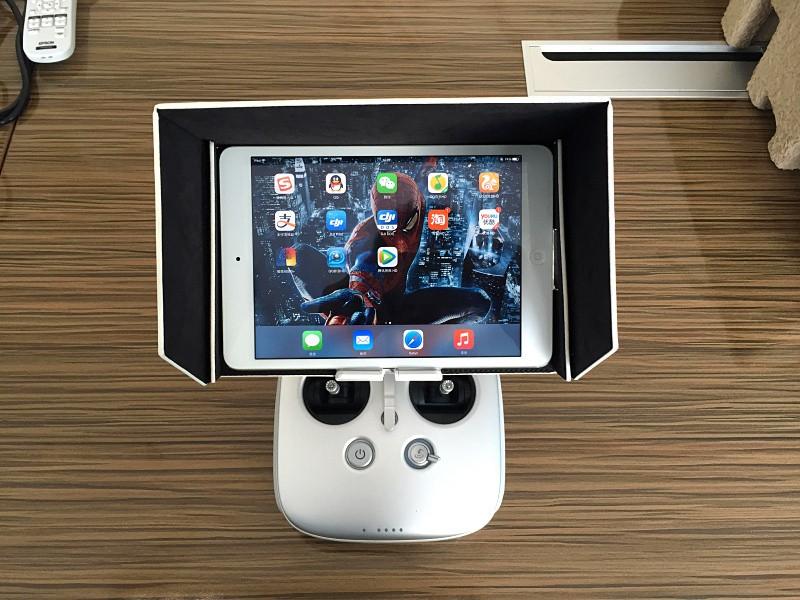 2016 Hot Sale For ZJM 8 inch iPad Mini Sunshade Hood Cover Anti-dust for DJI Inspire 1 & Phantom 3 / 4
