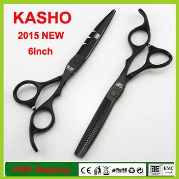 Japan KASHO Professional Hair Scissors Set 6 inch Hairdressing High Quality Barber Salon Hair Cutting & Thinning Shears