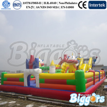 Giant Inflatable Fun City,Inflatable Slides,Inflatable Bouncer Combo For Children(China (Mainland))