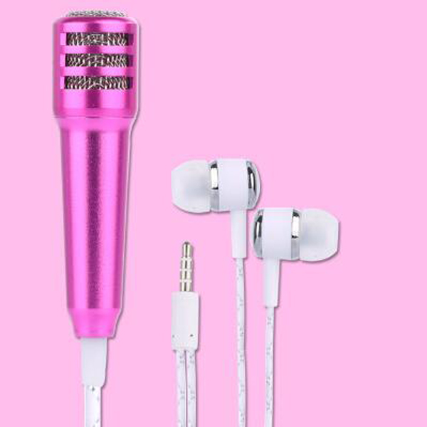 Latest Professional Singing Earphone In Ear earphones with Handheld Microphone Earphone for Music lovers MP4 MP3 MUSIC PLAYER