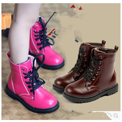 2014 children shoes autumn boots snow girls boys Waterproof antiskid Cozy wild Wearable 1-749