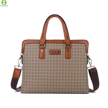 New Fashion Brand Man Bag Men's Leather Briefcase Bag Business Handbag high quality Messenger Bags Laptop Shoulder Briefcase(China (Mainland))
