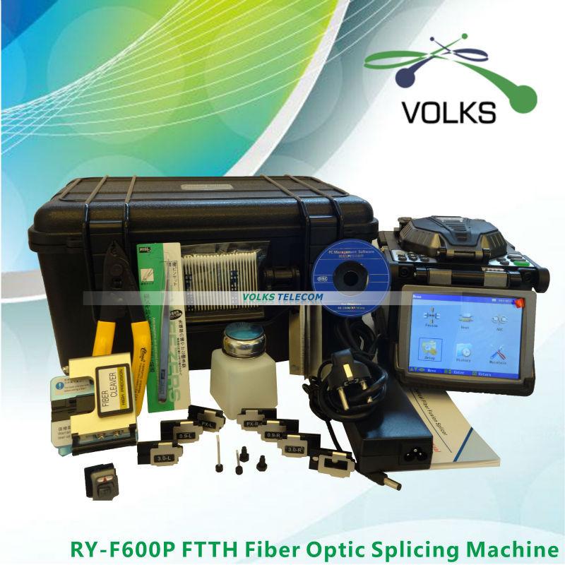 Original Ruiyan RY-F600P FTTH Fiber Optic Splicing Machine Fusion Splicer(China (Mainland))