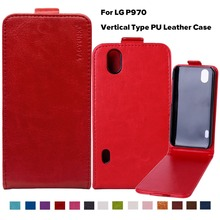Buy PU Leather Flip Case Phone Case Cover LG Optimus P970 Marquee LS855 4.0 inch Holster Bags Hood Housing Shell LG p970 for $2.98 in AliExpress store