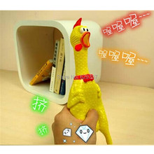 Sound Squeeze Dog Toys 18/33/44cm Funny Shrilling Chicken Creative Pet Products For Dogs