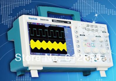 Free Shipping Hantek DSO5102BM Digital Oscilloscope /Multimeter 100(2CH) 1GSa/s<br><br>Aliexpress