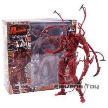 The Amazing Spiderman Carnificina Revoltech Série N ° 008 Figurals Action Figure Brinquedos Coleção Modelo Figura Toy(China)
