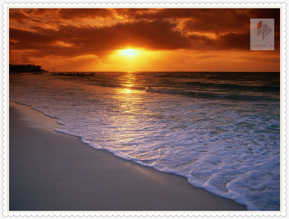 sunset beach diamond painting cross stitch full square drill canvas rhinestone diamond mosaic room wall sticker