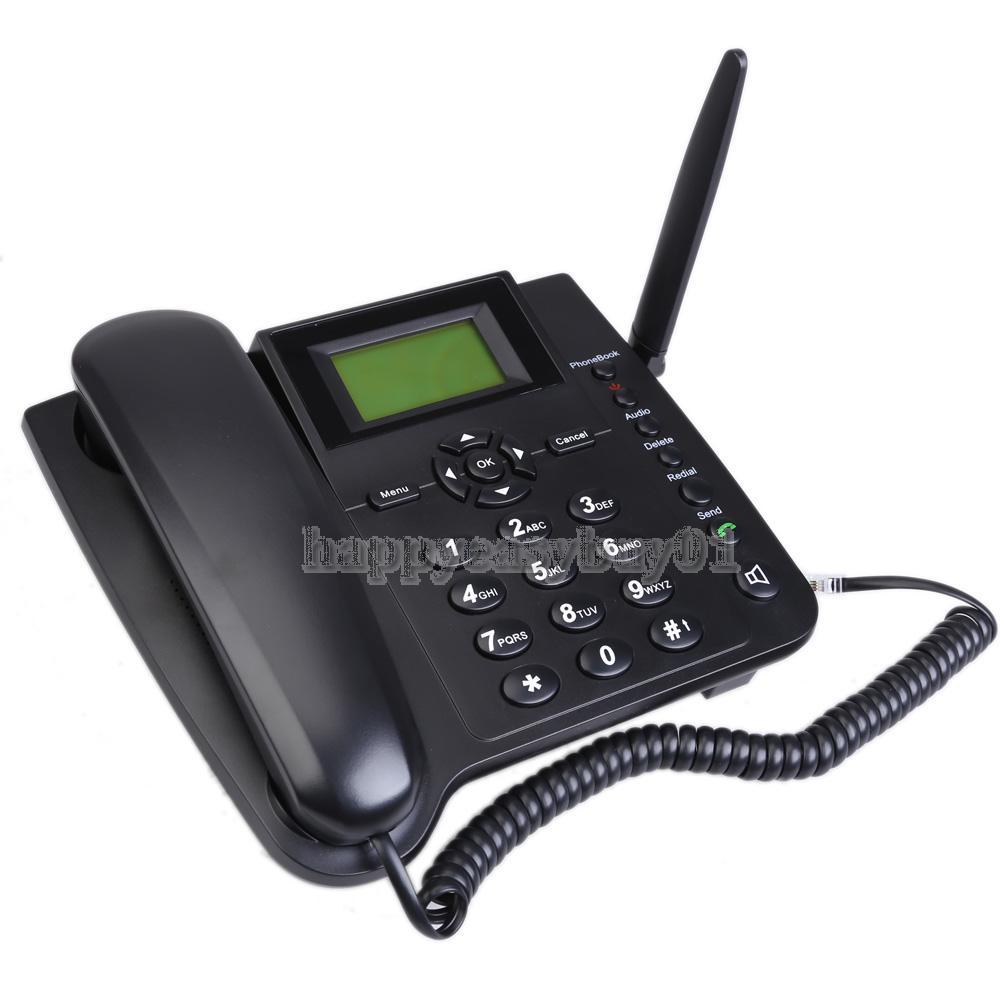 M281-GSM Fixed Wireless GSM Desk Phone with Quadband SMS Function H1E1(China (Mainland))