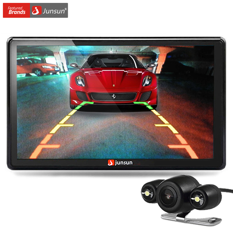 Junsun 7 inch Car GPS Navigation Bluetooth 8GB with Rear view Camera FM MP3 MP4 256MB DDR/800MHZ Detailed Maps with Free Updates(China (Mainland))