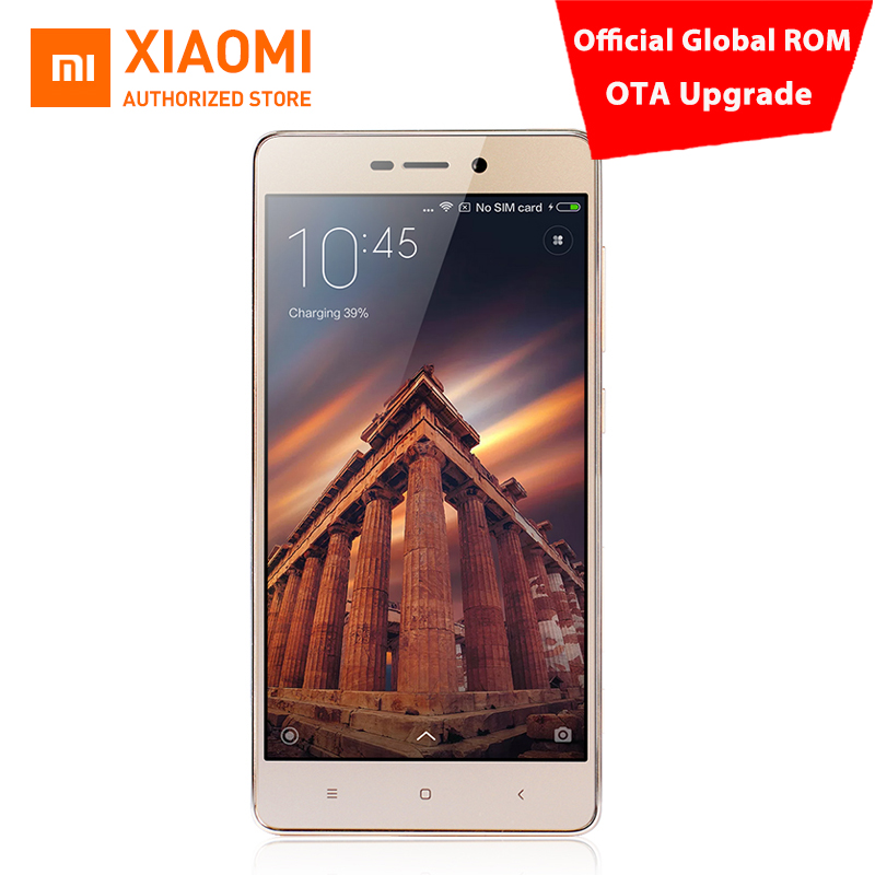 "Original Xiaomi Redmi 3S Pro Official Global Firmware OTA Upgrade Octa core Mobile Phone Snapdragon 430 4100mAh 5.0"" 3GB / 32GB(China (Mainland))"