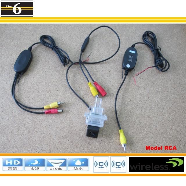 Wireless Camera Mercedes Benz Class MB W176 / Car Rear View Plug & Play Easy Installation