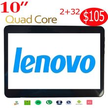 2015 Lenovo 10 inch 10.1″ Call Tablet phone Tablet PC 3G Quad Core Android 4.4 2G RAM 32G ROM(3G+Dual SIM)GSM