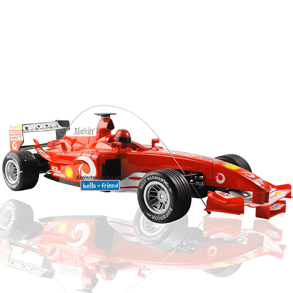 1pcs/lot Brand new Flashing lights Scale 1:10 RC Racing F1 Formula Radio Remote control toys car