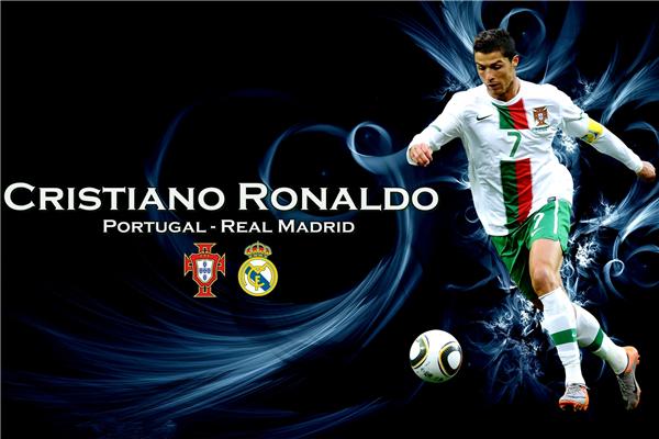 Cristiano Ronaldo Poster Football Madrid Posters Ronaldo Wall Sticker CR7 Wallpaper World Cup Stickers Soccer Canvas Art #2253#(China (Mainland))