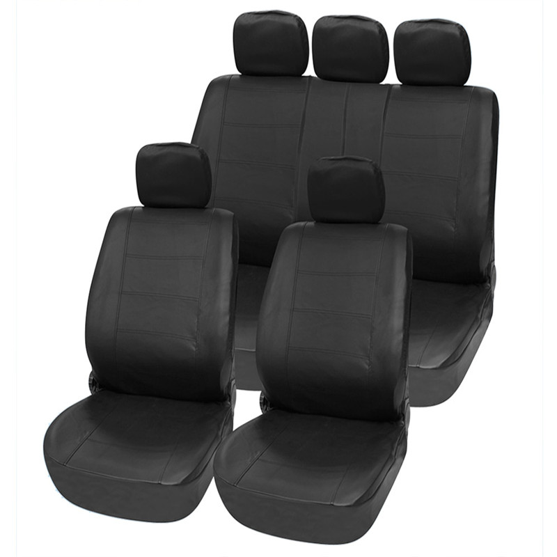 Hot sale high quality Universal Car Seat Covers PU Leather 11PCS/Set Front Rear Cover Set for Crossovers SUV Sedans(China (Mainland))