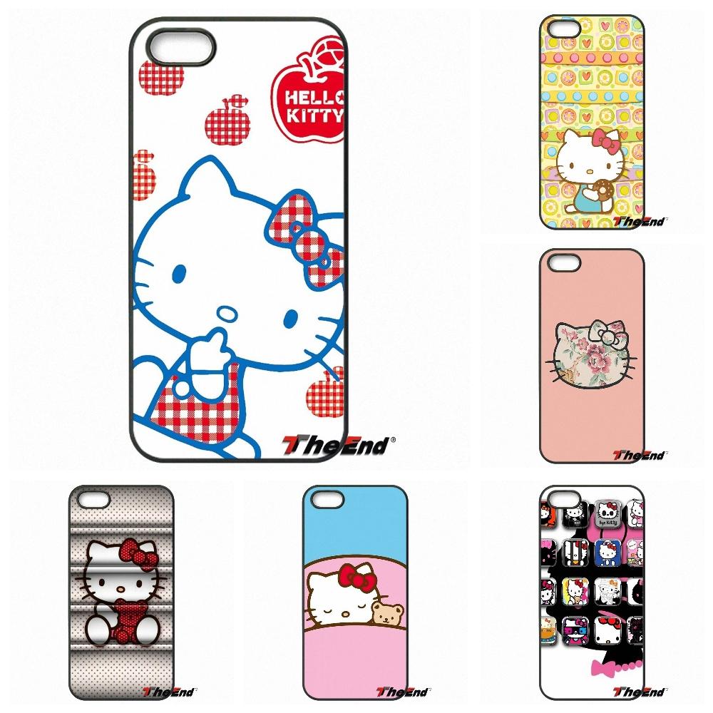Fashion Hello Kitty Minnie Cartoon Cat Phone Cover For Sony Xperia X XA XZ M2 M4 M5 C3 C4 C5 T3 E4 E5 Z Z1 Z2 Z3 Z5 Compact(China (Mainland))