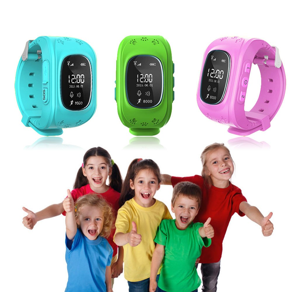 2016 Smart Kid Safe GPS Watch Wristwatch SOS Call Location Finder Locator Tracker for Kid Child Anti Lost Monitor Baby Gift Q50(China (Mainland))