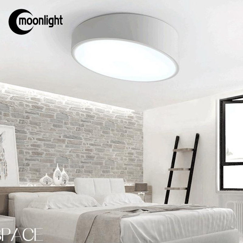 [Cape] creative personality bedroom round LED ceiling lamp Yang simplicity study porch lamp kitchen lamp<br><br>Aliexpress