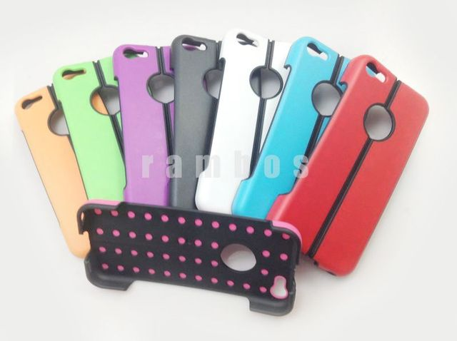 500pcs/lot New Design Plastic Folding Stand back case for iphone 5c free shipping