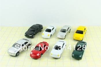 Free shipping Z SCALE 100pcs 1:200 scale miniature car CB200 for scale model train layout Z scale