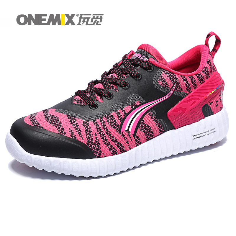 ONEMIX Women Running Shoes Breathable Mesh Sport Shoes for Women Lace Up Athletic Sneakers with 4 Colors 1126<br><br>Aliexpress