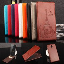 Buy Brand HongBaiwei Embossed Eiffel Tower Wallet Case HOMTOM HT7 HT 7 Vertical Flip Leather Cover Card Slot for $5.88 in AliExpress store