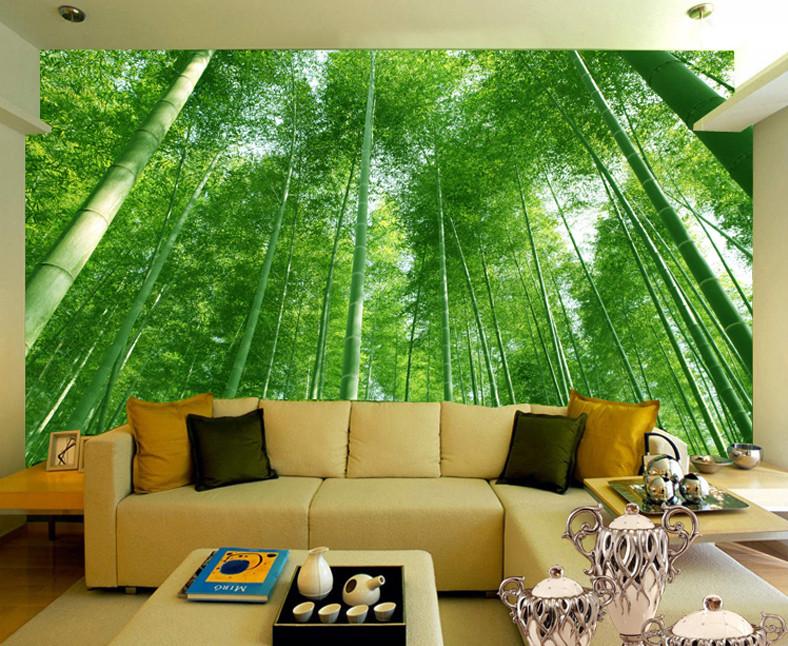 Natuur Woonkamer Behang