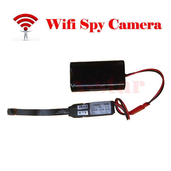 Wireless Spy Wifi Camera Hidden HD P2P Pinhole Mini Cameras Video Nanny DVR IP CAM Camcorder Hidden for Iphone Android(China (Mainland))