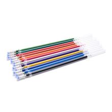 12 шт цвет полный сверкающие пополнения флэш-гелевая ручка пополнения для детского рисунка канцелярские принадлежности для офиса(China)