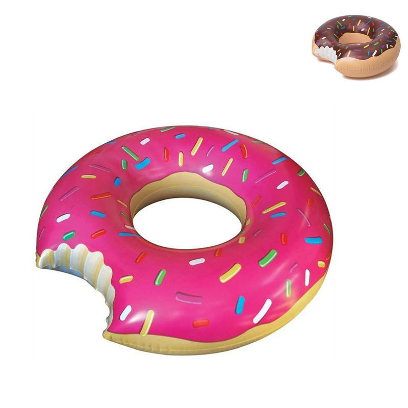 Gigantic Donut Inflatable Swimming Float Tube Raft Adult pool float Swim Ring Summer Water Fun Pool Toys PF01-60(China (Mainland))